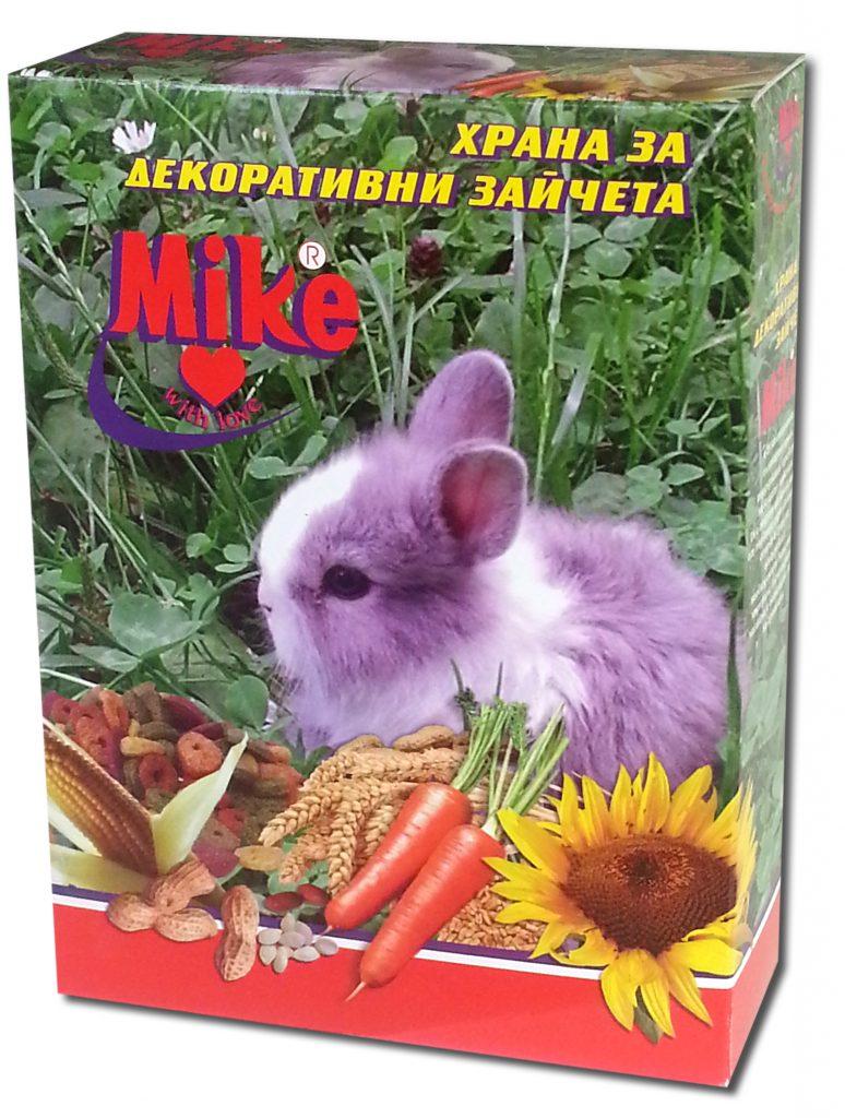 Храна за декоративни зайчета Майки – Храни за гълъби и домашни ...